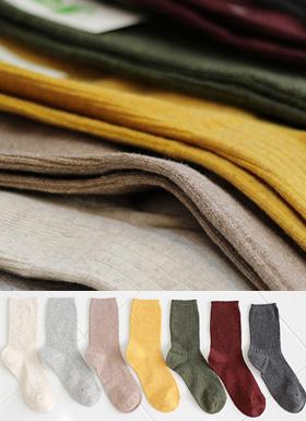 カラー段ボール靴下(7color)